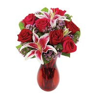 """Our Valentine's Romance"" flower bouquet (BF296-11)"